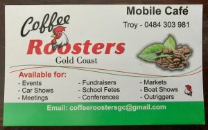 Coffee Roosters Supporters of Helensvale Little Athletics