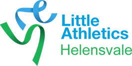 helensvale little athletics logo