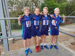 Helensvale little athletics state relays
